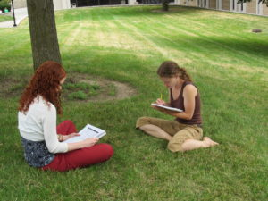 sasli students study