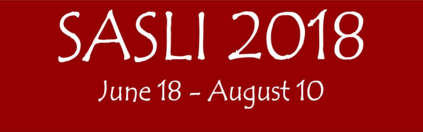 SASLI 2018 June 18-August 10 banner
