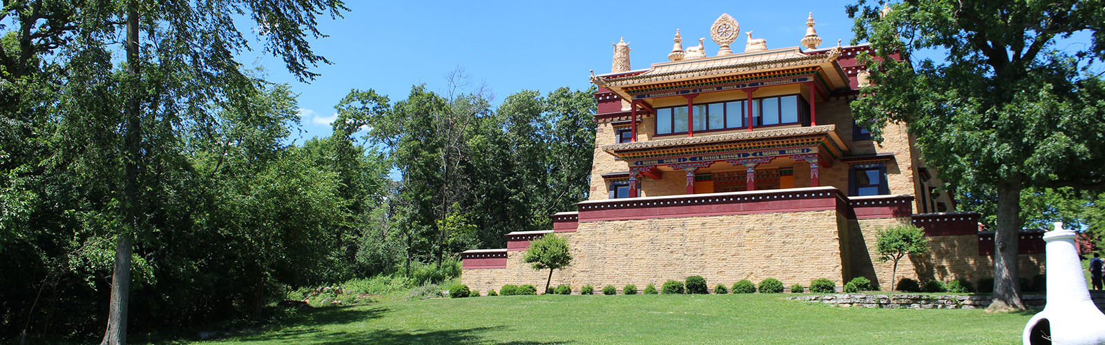 Exterior of Deer Park Temple
